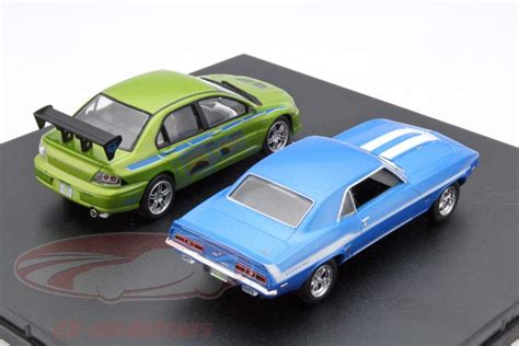 Fast Furious Satu Set Skala 155 ck modelcars 86253 2 car set chevrolet yenko camaro and