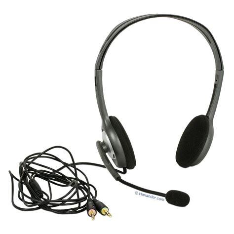 Logitech Stereo Headset H110 logitech stereo headset h110 headset 10019995
