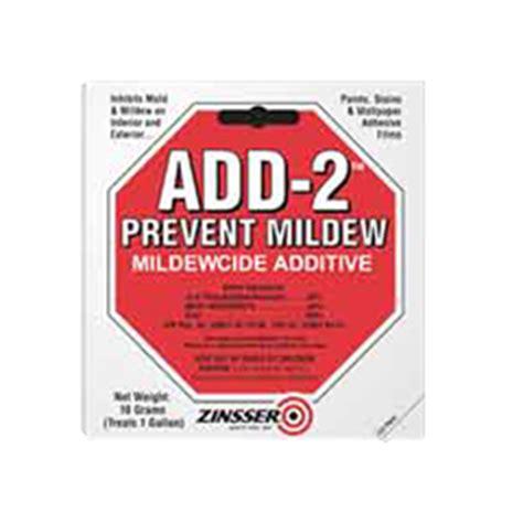 zinsser 174 add 2 prevent mildew mildewcide additive product