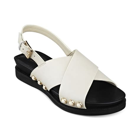 isaac mizrahi sandals isaac mizrahi new york flat sandals in white