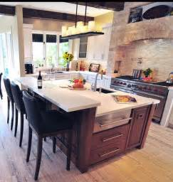 Kitchen Bar Island Ideas by 10 Ways To Rev Your Kitchen Island