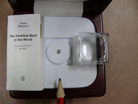 this book is the smallest book in the world well almost national library of australia