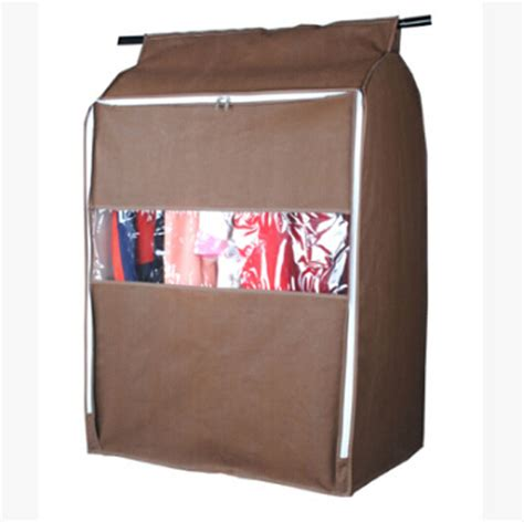 Wardrobe Storage Bags by Large Non Woven Clothing Hanging Garment Suit Coat Dust