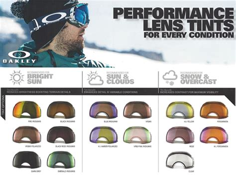 oakley motocross goggle lenses types of oakley goggle lens tints goggle size fitting