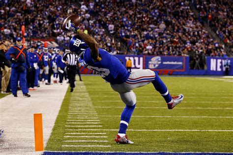 the science of odell beckham jrs incredible onehanded td catch 2014 image gallery odell beckham catch