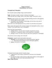 Chapter 8 Section 2 Photosynthesis by 8 2 Study Guide Conrming Proofs Part Ii Cornerstones