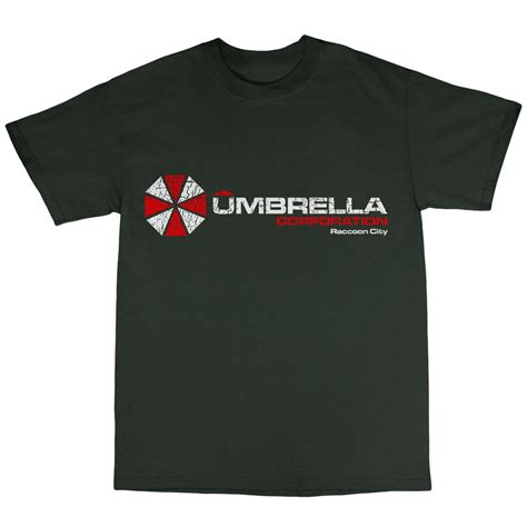 Tshirt Umbrella umbrella corporation t shirt 100 cotton evil resident afterlife computer ebay