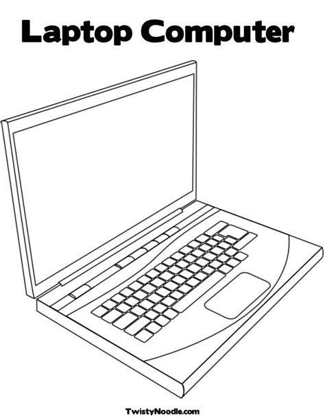 Free Keyboard Of Computer Coloring Pages Coloring Pages On The Computer