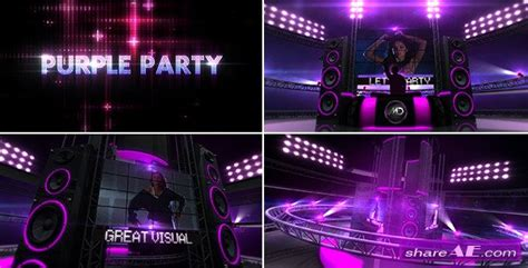 template after effects party free shareae com ae project free download gt print version