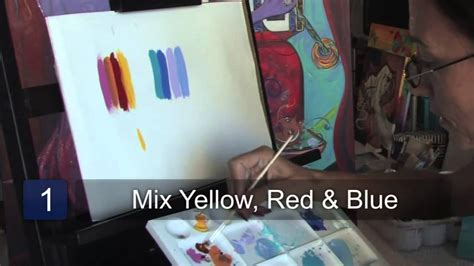 how to make the color brown with paint how to make the color brown with paint