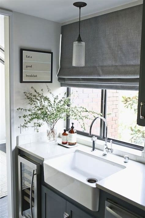 French Grey Curtains by 17 Best Ideas About Kitchen Blinds On Pinterest Kitchen
