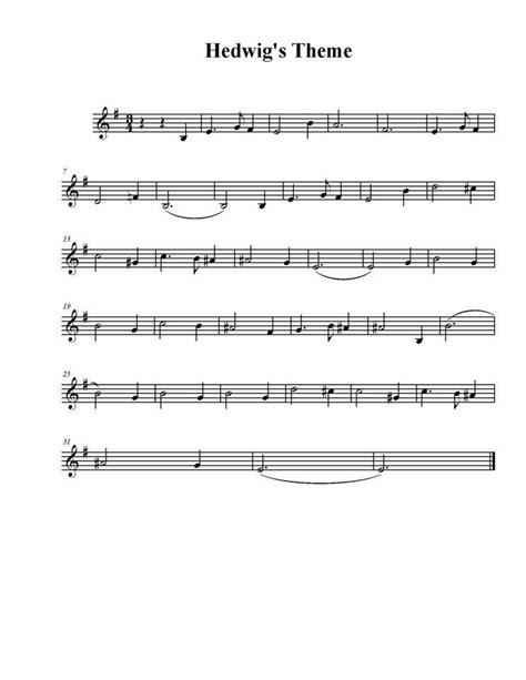 theme music night manager hedwig s theme yay sheet music pinterest sheet
