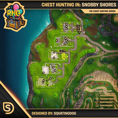 fortnite locations fortnite snobby shores chest locations where to find