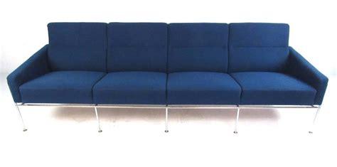 airport sofa arne jacobson airport sofa by fritz hansen denmark 1957