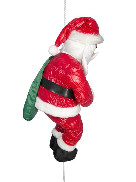 Hanging Santa Decoration by Hanging Padded Santa Outdoor Decoration 64cm Large Decor Inflatables The Warehouse