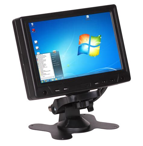 Led Monitor Touchscreen amstyle 17cm 7 quot led lcd touchscreen monitor vga usb pc black windows 10 ready ebay