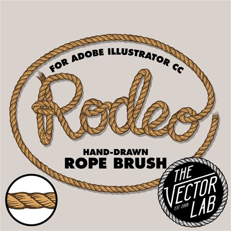 rope pattern brush illustrator download rodeo hand drawn rope brush free download ray dombroski