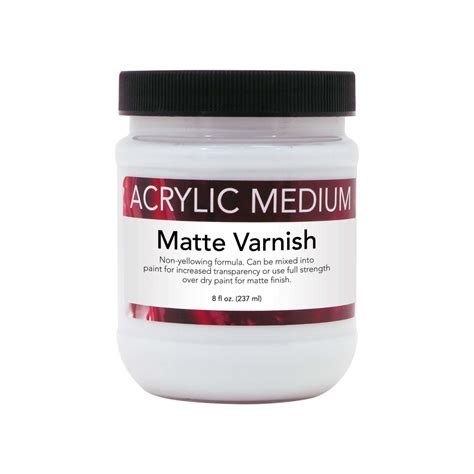 Mat Varnish by 8 Oz Acrylic Matte Varnish Advantage