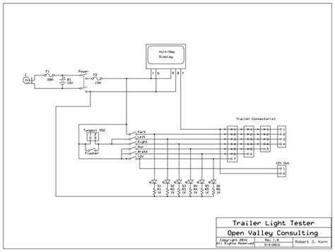 trailer light tester wiring diagram wiring diagram