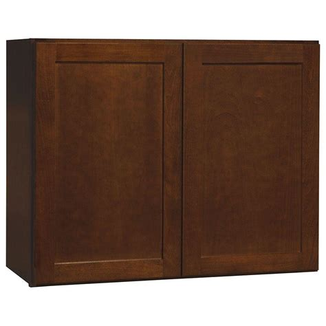 hton bay assembled 18x30x12 in wall flex cabinet with