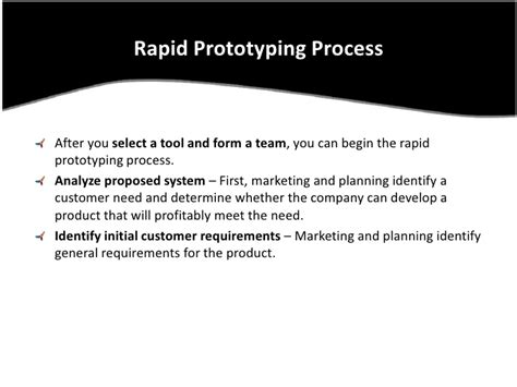 Rapid Prototyping Model