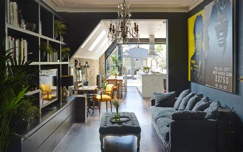 interiors  victorian terrace  industrial chic style