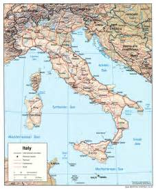 A Map Of Italy by Free Maps Of Italy