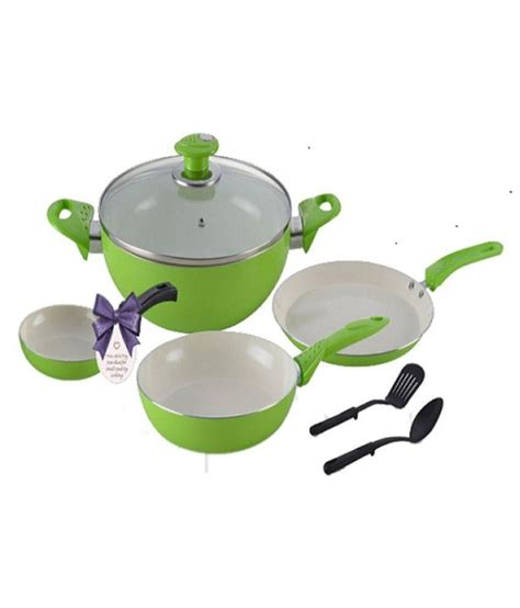 set kondangan alda set alda ceramic coating cookware set 6 pc 6 cookware