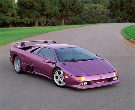 lamborghini diablo sv purple this is probably the only lamborghini that looks in