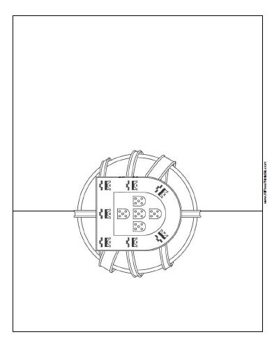 portuguese flag free coloring pages