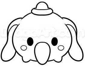 Tsum Disney Coloring Pages sketch template