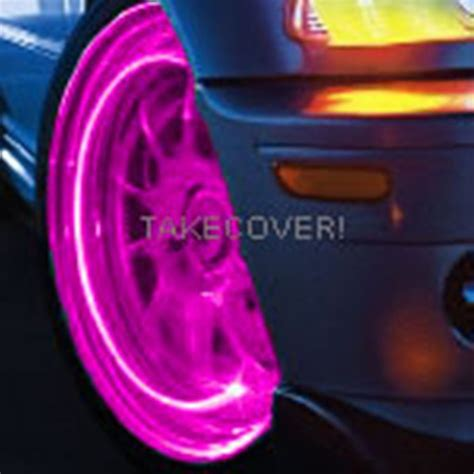Pink Car Mouse With Led Headlights by Pink Magenta Led Tyre Lights Tire Wheel Valve Stem Cap
