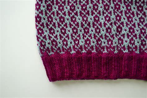 stranded knitting tips obla slouchy hat aknitica