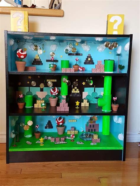 super mario play shelf mario room super mario room