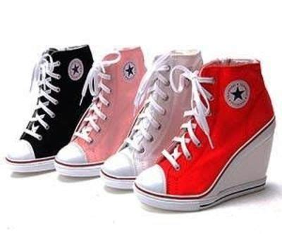 Event Sepatu Converse converse wedge heels with flair neat gizmos juxtapost