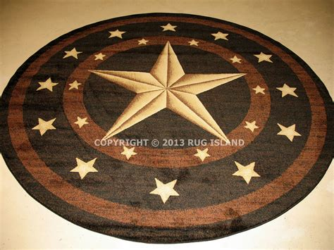 Distessed Western 9x7 Area Rugs - 5 5 3 quot x 5 3 quot lone rustic cowboy