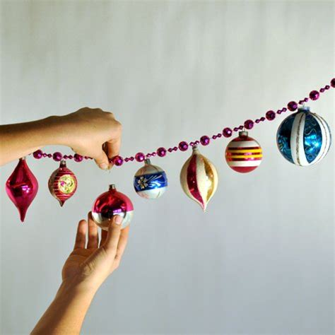 christmas garlandballs easy diy ornament garland