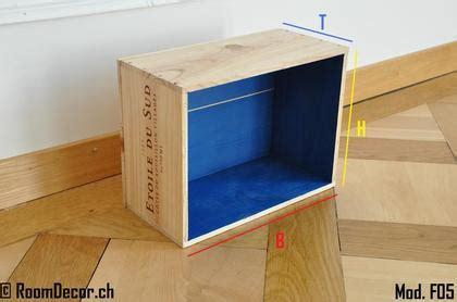 Weinkisten Als Wandregal by Weinkiste Als Wandregal Blau Mod F05