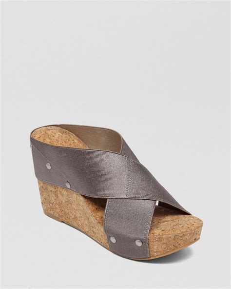 wedge slide sandals lucky brand platform wedge slide sandals lk miller2 in