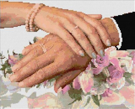 Material Colors wedding ann s cross stitch patterns