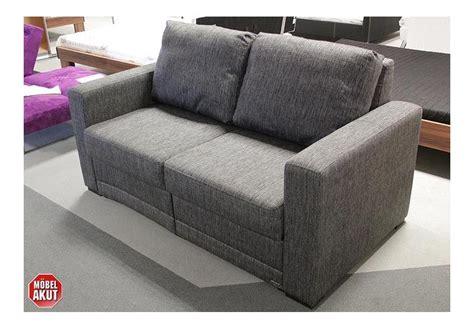 schlafsofa einzeln ausziehbar schlafsofa quot poga quot sofa in grau bettfunktion neu ebay