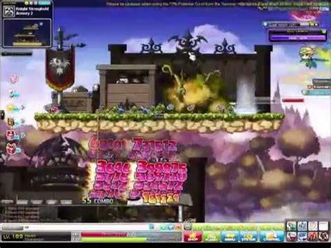 maplesea hayato training guide maplestory level 189 hayato training at stronghold youtube
