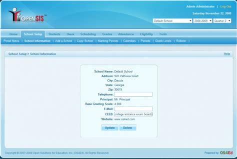 Free Project Design Software 3 open source school management software for teachers and