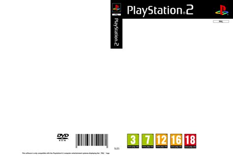 playstation 2 cover pal template by essinay on deviantart