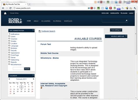 moodle theme dark blue dark blue theme now for moodle 1 9 and 2 0 moodle news