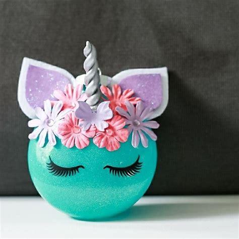 diy unicorn christmas ornament lularoe ornament