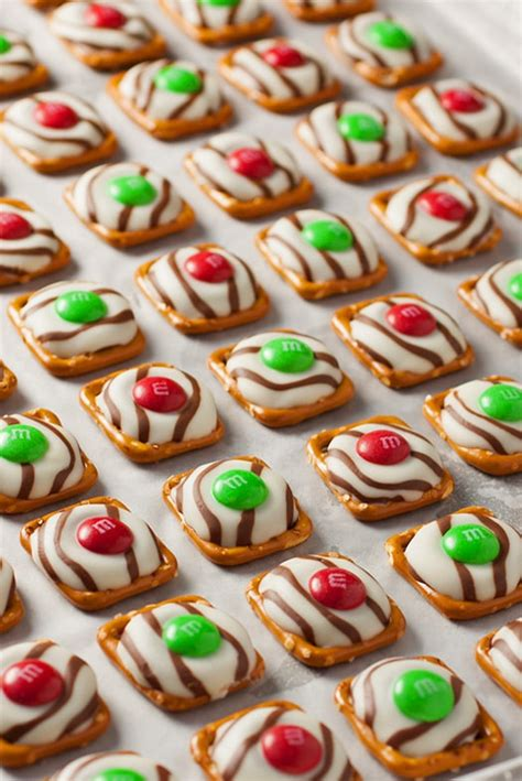 almond mm christmas lights pretzel m m hugs style cooking