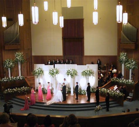 wedding decorations for church   Ceremony Decoration for