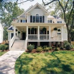 House With A Porch by White Home Dream Home House Steps Suburbs Shutters Front