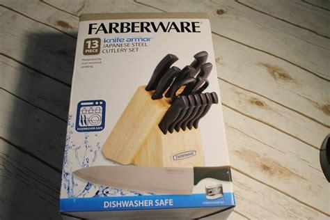 farberware knife armor dishwasher safe knives and knife